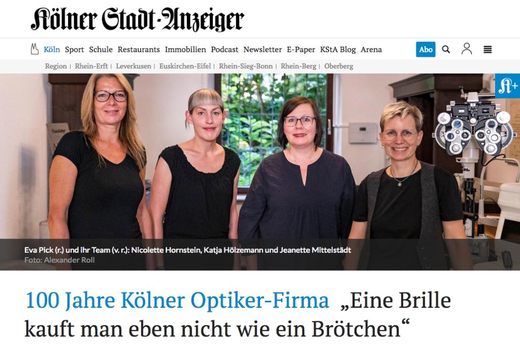 100 Jahre Duisdieker   Kölner Stadtanzeiger 24.09.2021